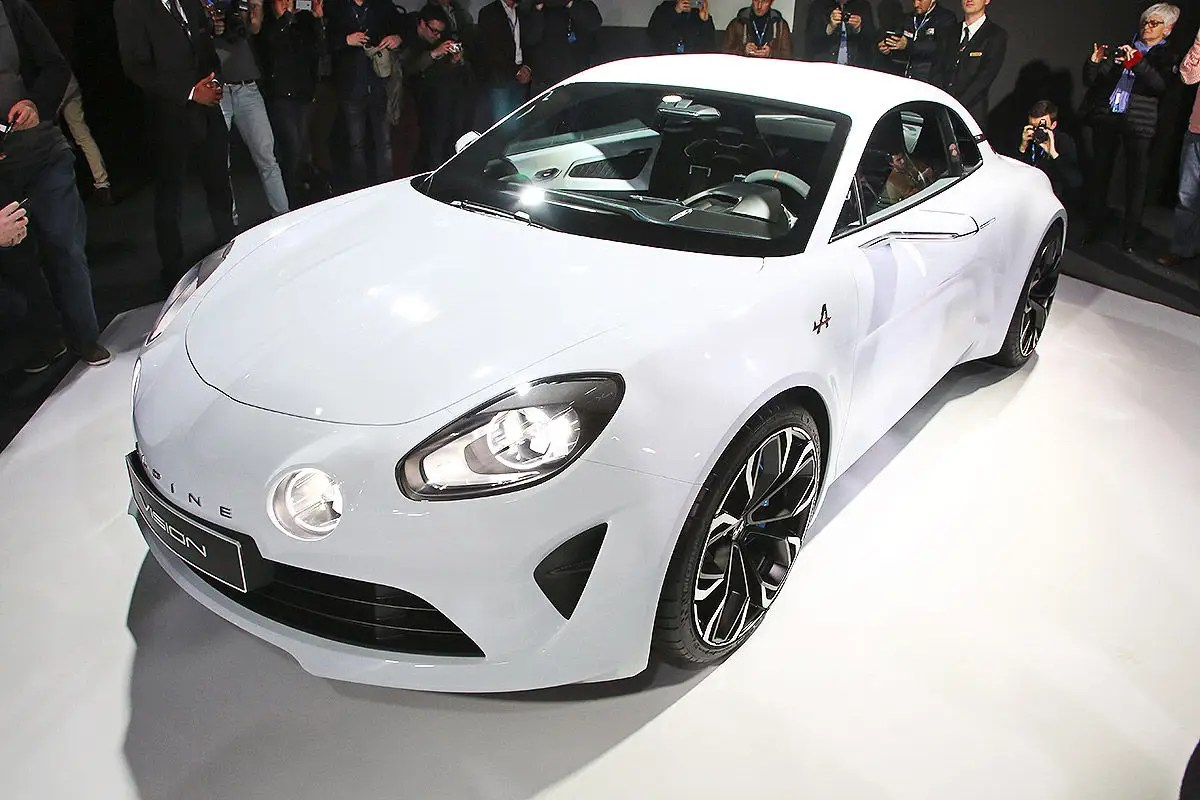 14. French automaker Renault showed off a stunning, high-tech sports car dubbed the Alpine Vision in February.