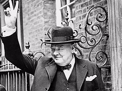 5. Winston Churchill.