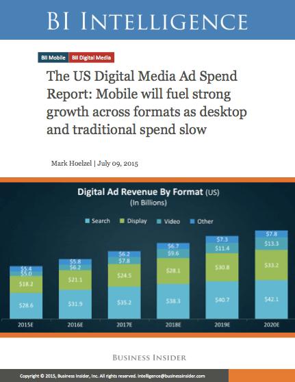 Digital Media Ad Spend Report Cover