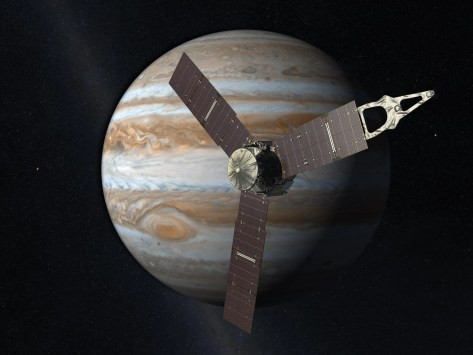 NASA will plunge the spacecraft into Jupiter's clouds in 2018 or 2019. This will prevent the probe from spreading any bacteria from Earth to the gas giant's icy, ocean-filled moons like Europa and Ganymede.