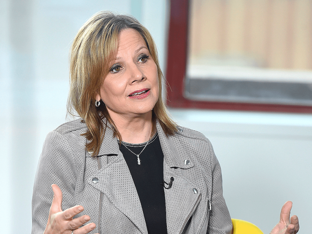5. Mary Barra: CEO, General Motors, EE. UU.