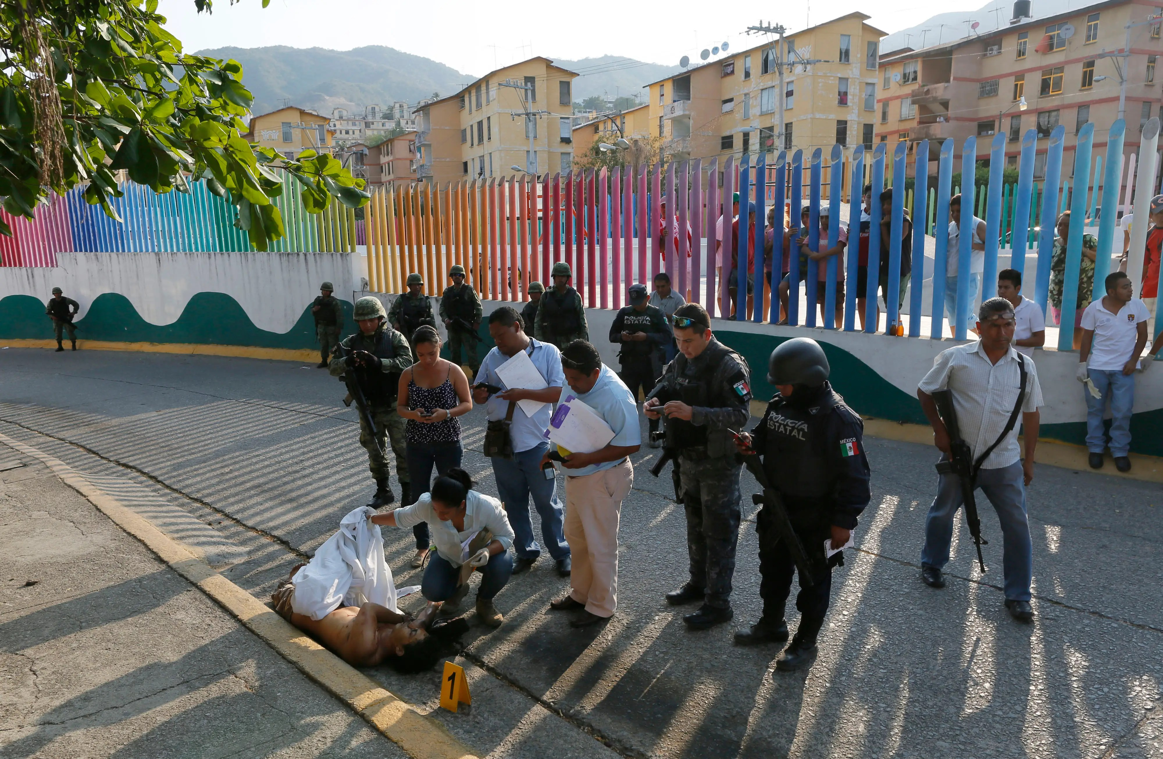 Acapulco Guerrero Mexico drug cartel criminal violence murder