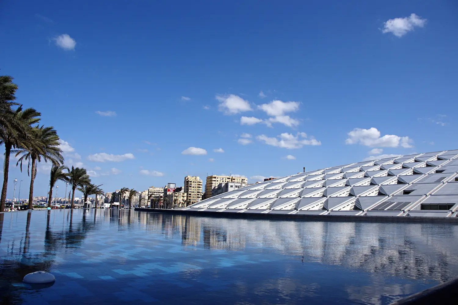 50. The stylish Bibliotheca Alexandrina in Egypt has the capacity to hold more than 4 million books.