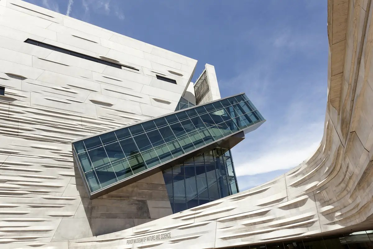 12. The sharp angles and futuristic look of Perot Museum of Nature and Science in Dallas make it one of Texas' most cutting-edge buildings.