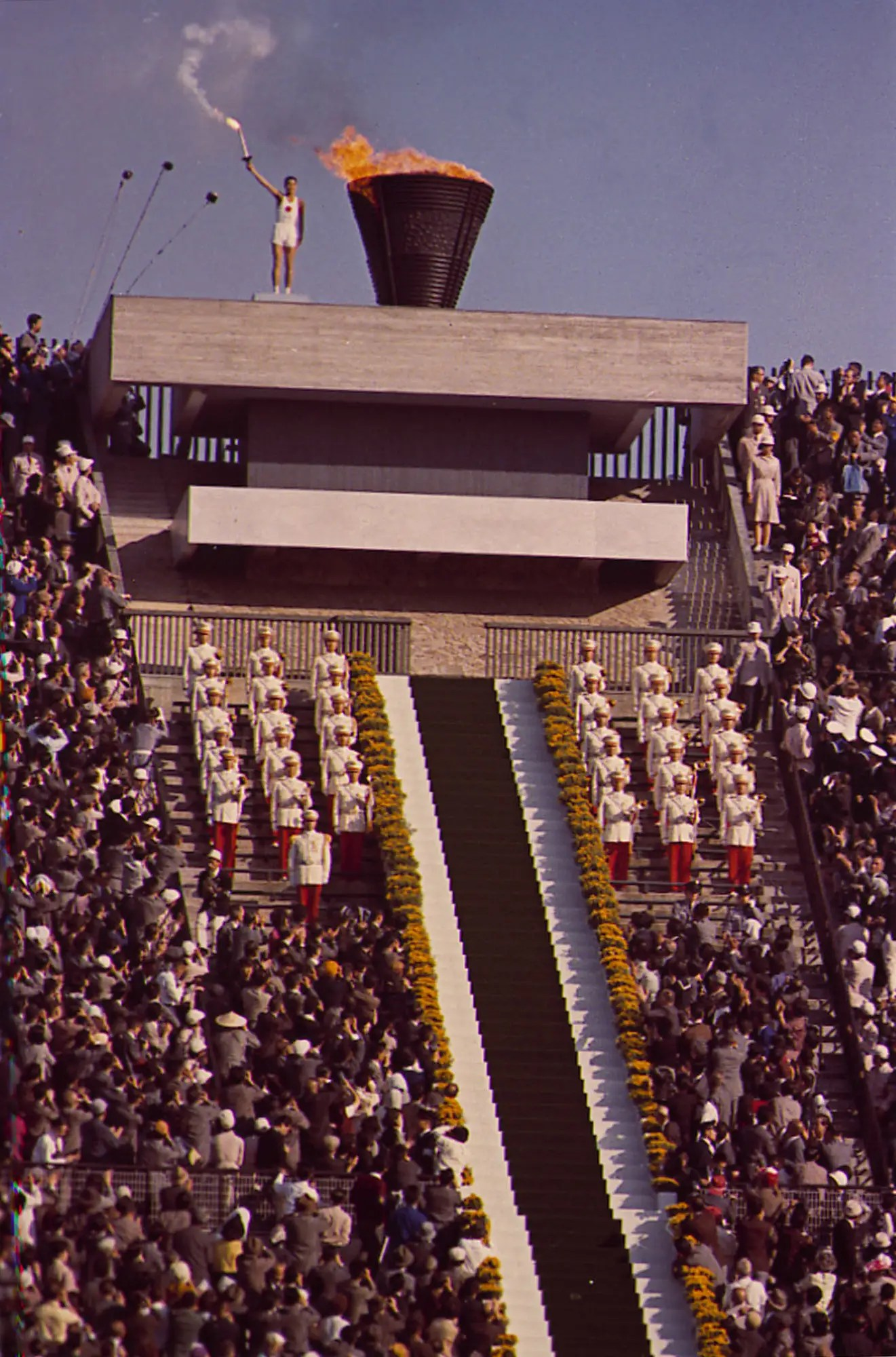 Tokyo, 1964: The Tokyo Olympics were the first to be held in Asia, the first to feature colour broadcasting, and also the first to ban South Africa from participating due to its apartheid laws.