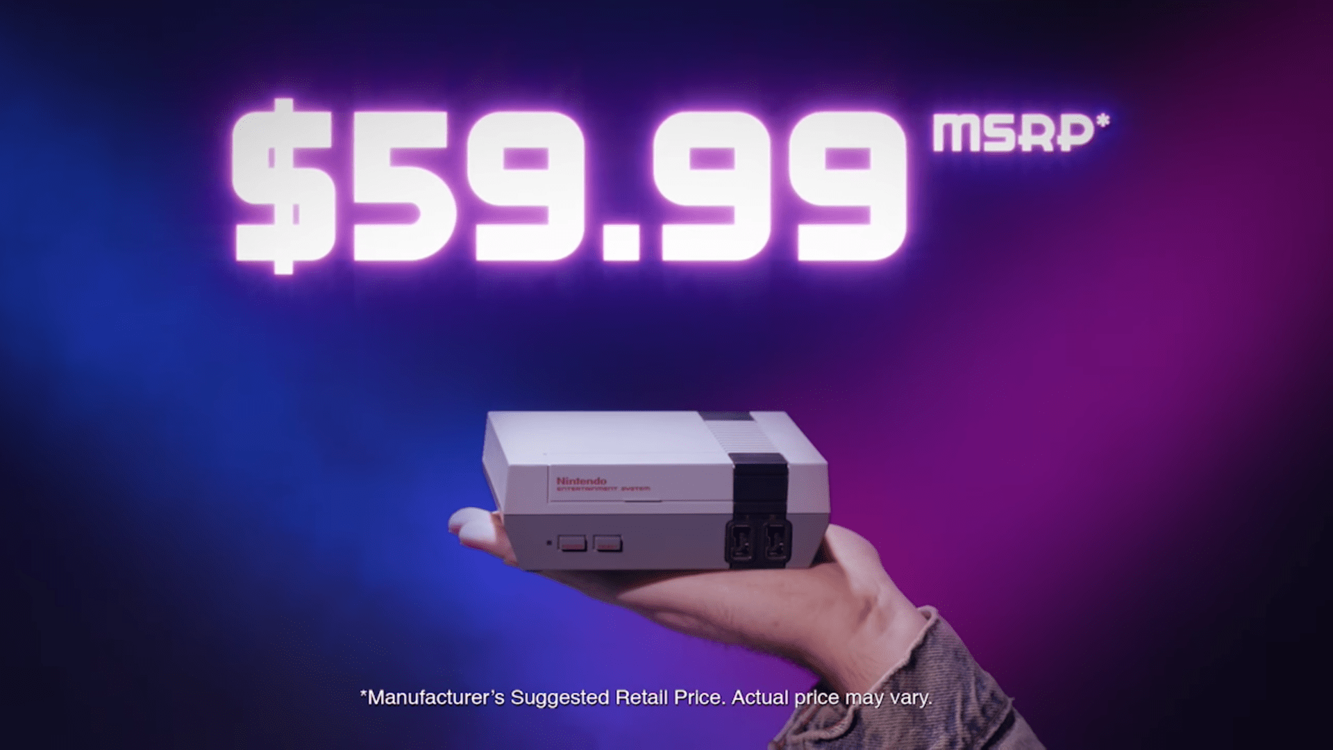 1. The NES Classic Edition was never intended to be a product — rather, a commercial.