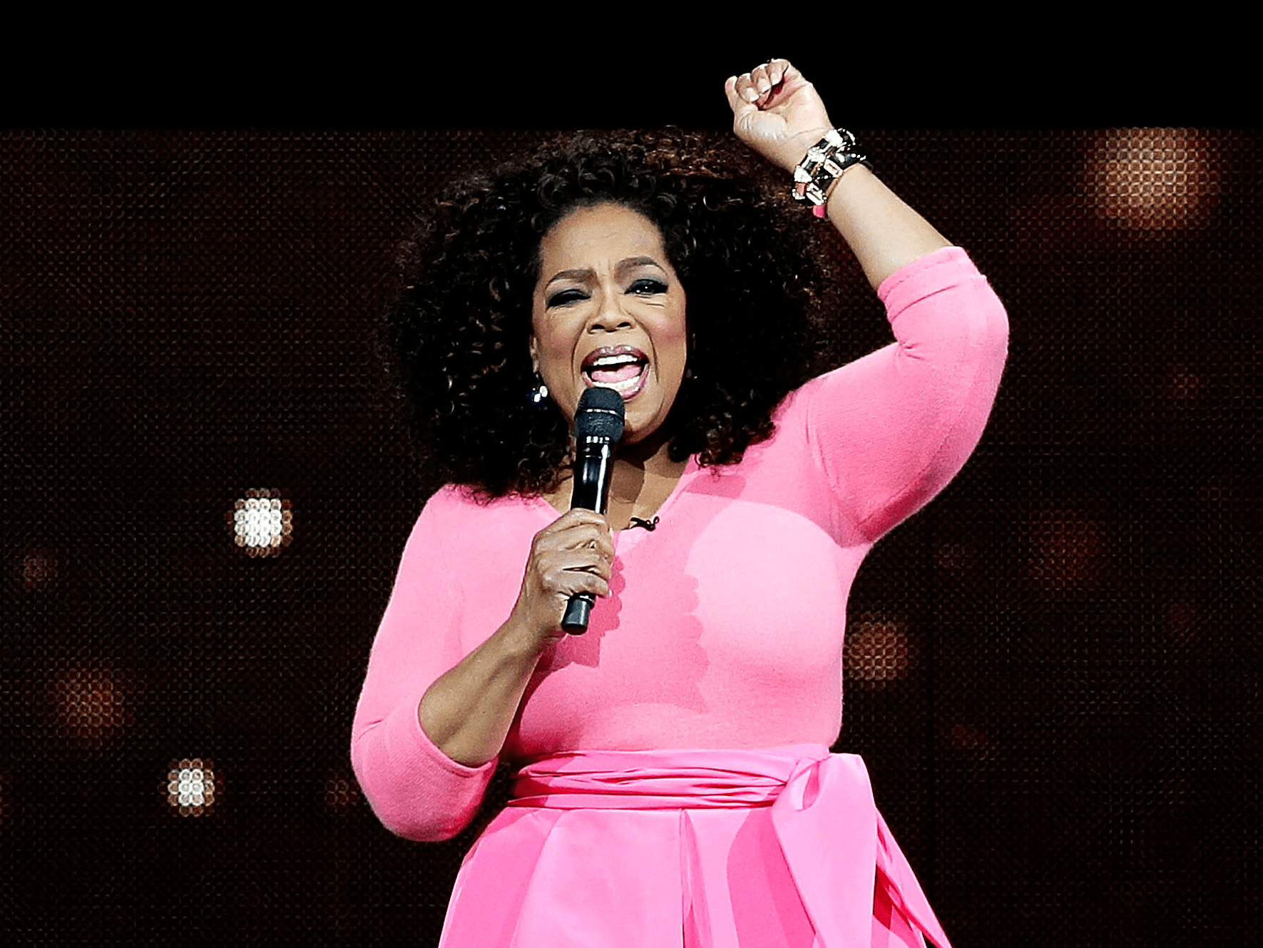 "By the time Winfrey was 32, ""The Oprah Winfrey Show"" was syndicated on national television."