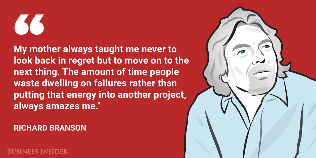 Richard Branson, Virgin Group founder and chairman