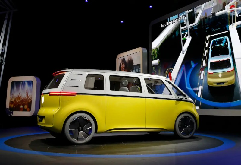 Volkswagen said the vehicle is equipped with lidar, radar, cameras, and ultrasonic sensors, making it fully autonomous.