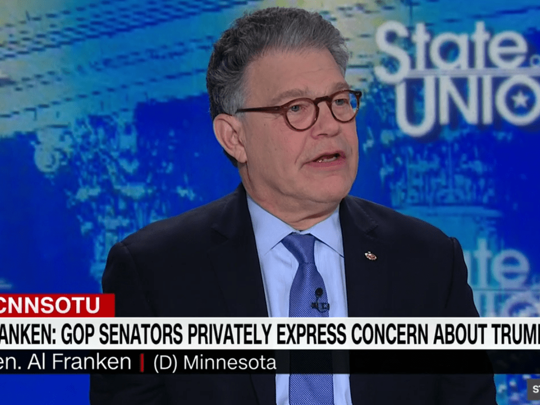 Image result for al franken on cnn