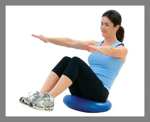 An abdominal cushion