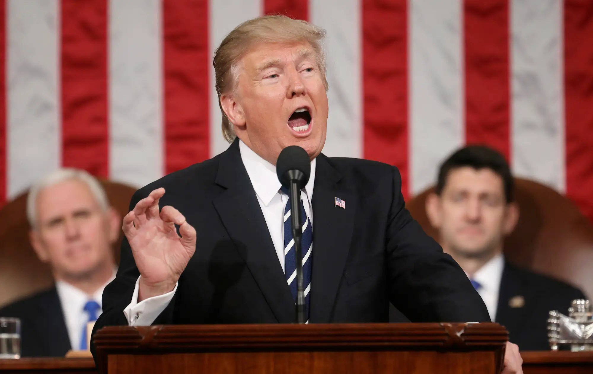 donald trump joint address congress