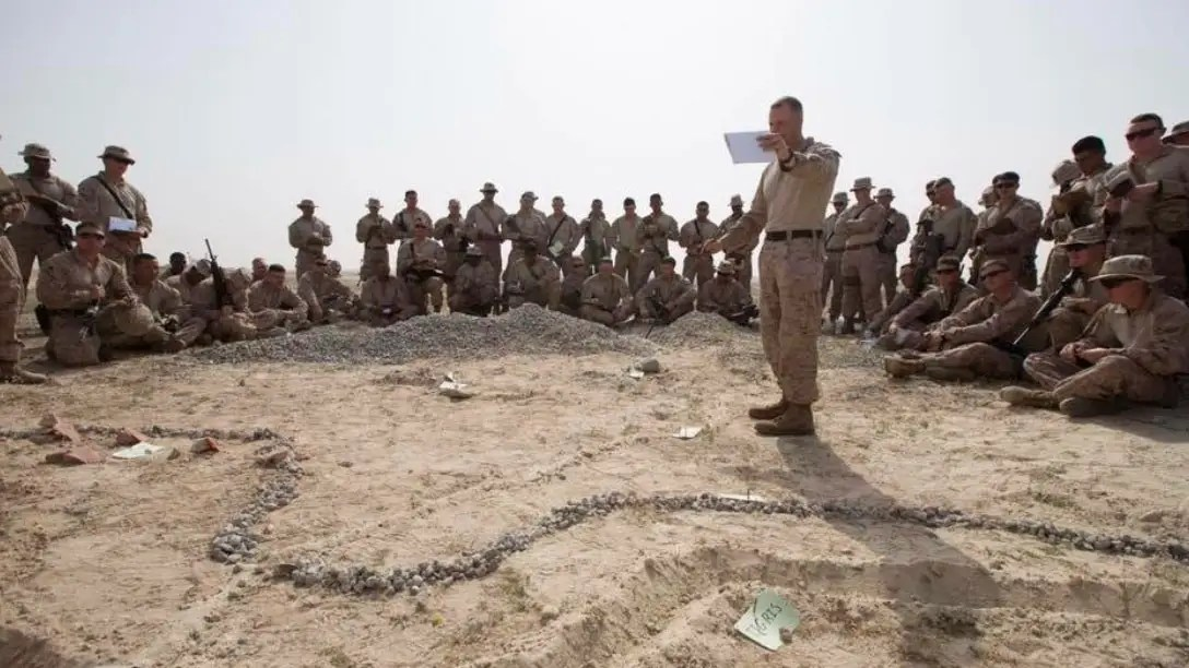 marines fire base bell iraq