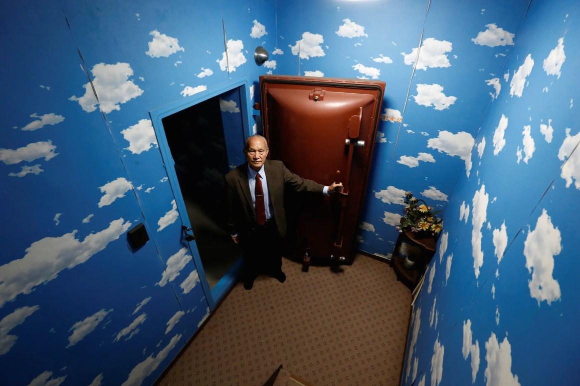 hyrja e bunkerit
