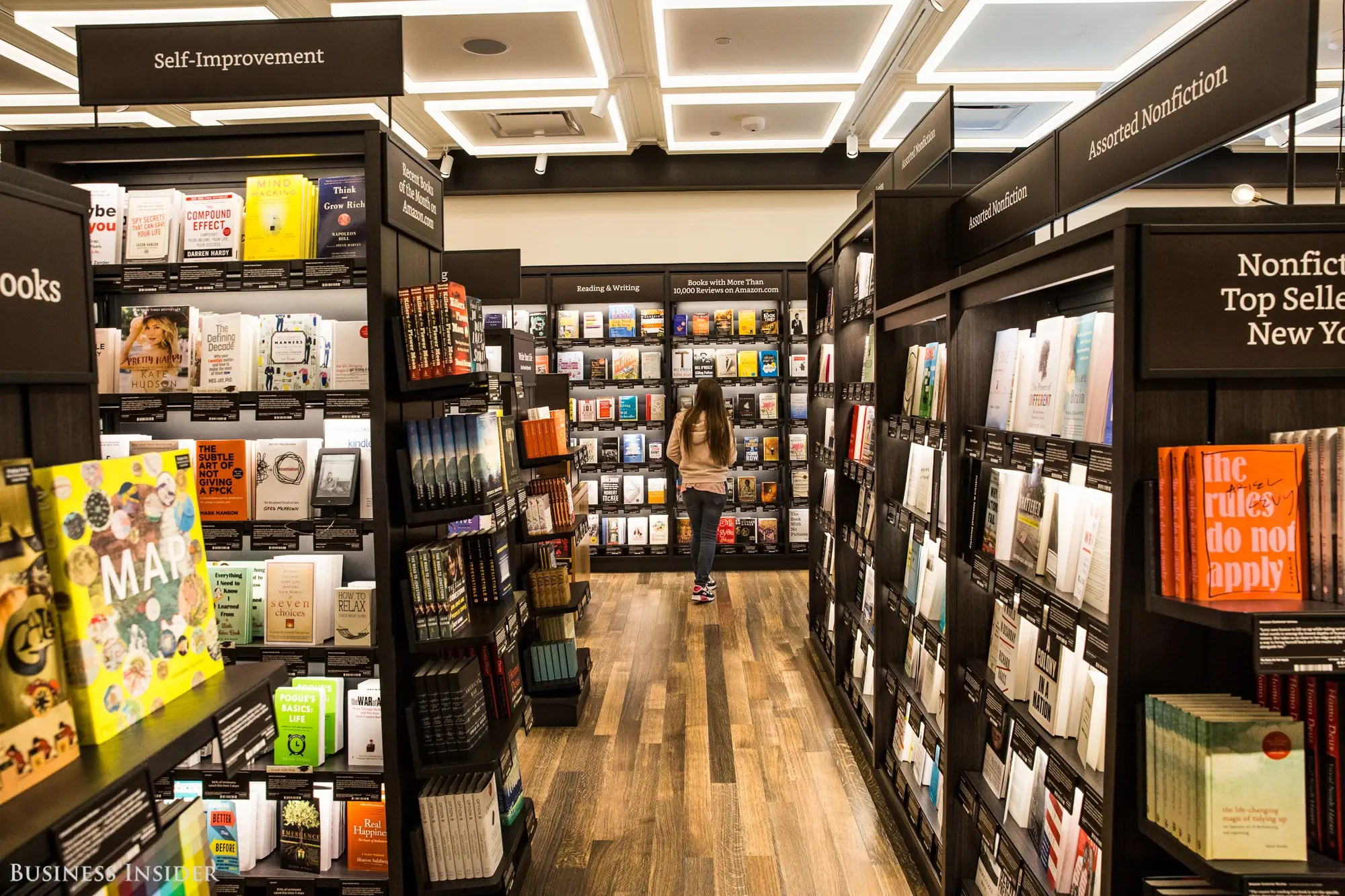 Amazon Books New York City Location Photos