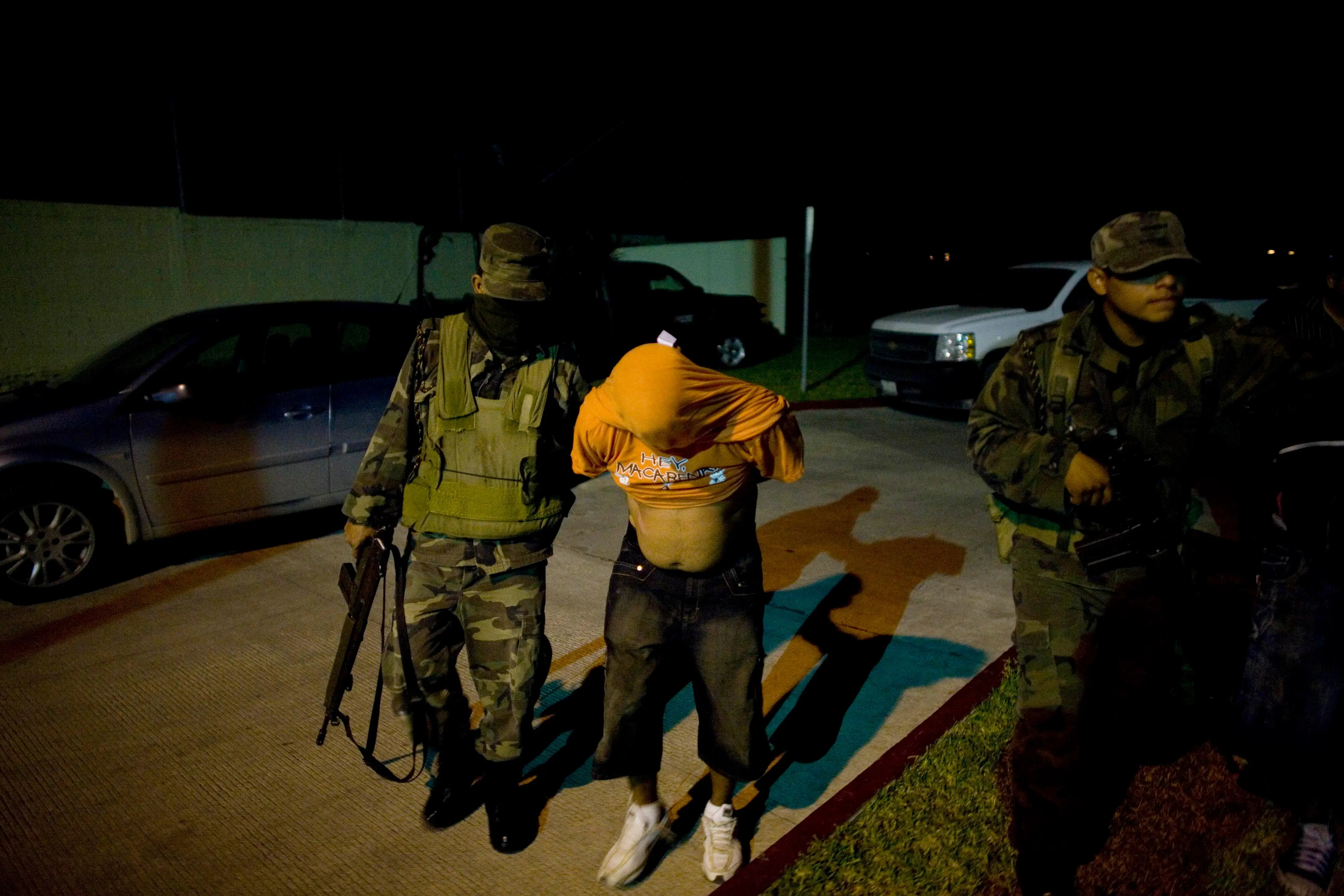Reynosa Tamaulipas Mexico soldiers police arrest kidnapping