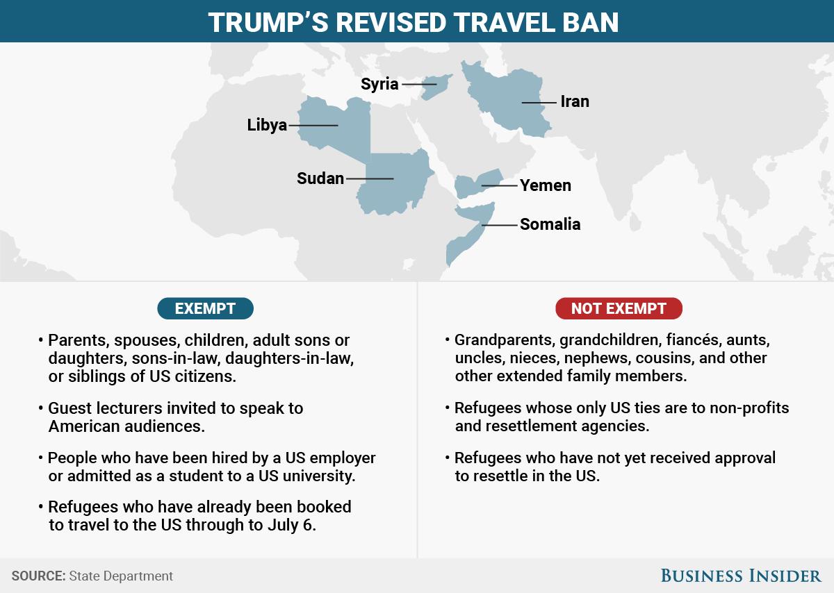 BI Graphics_Trump's revised travel ban