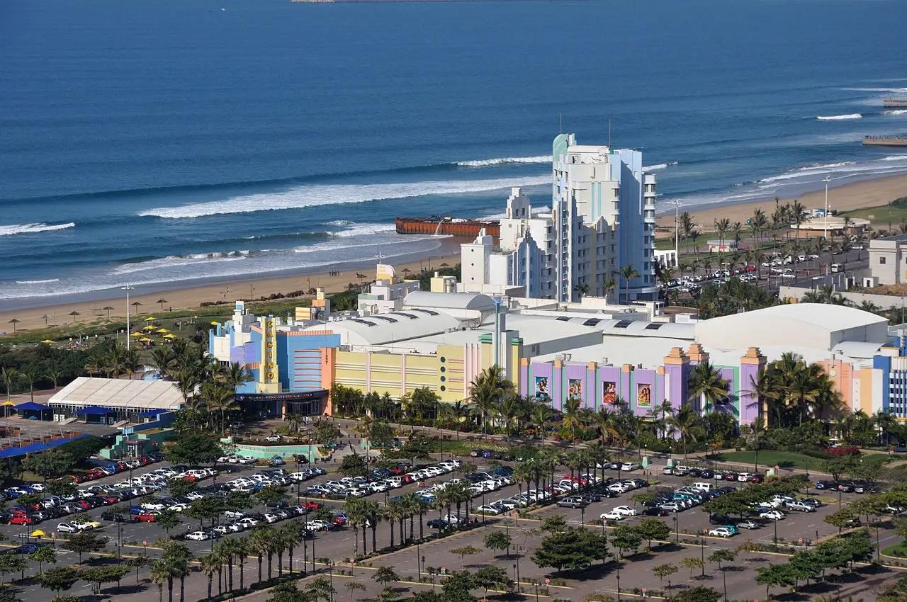 5. Durban, Afrique du Sud - 23,7%