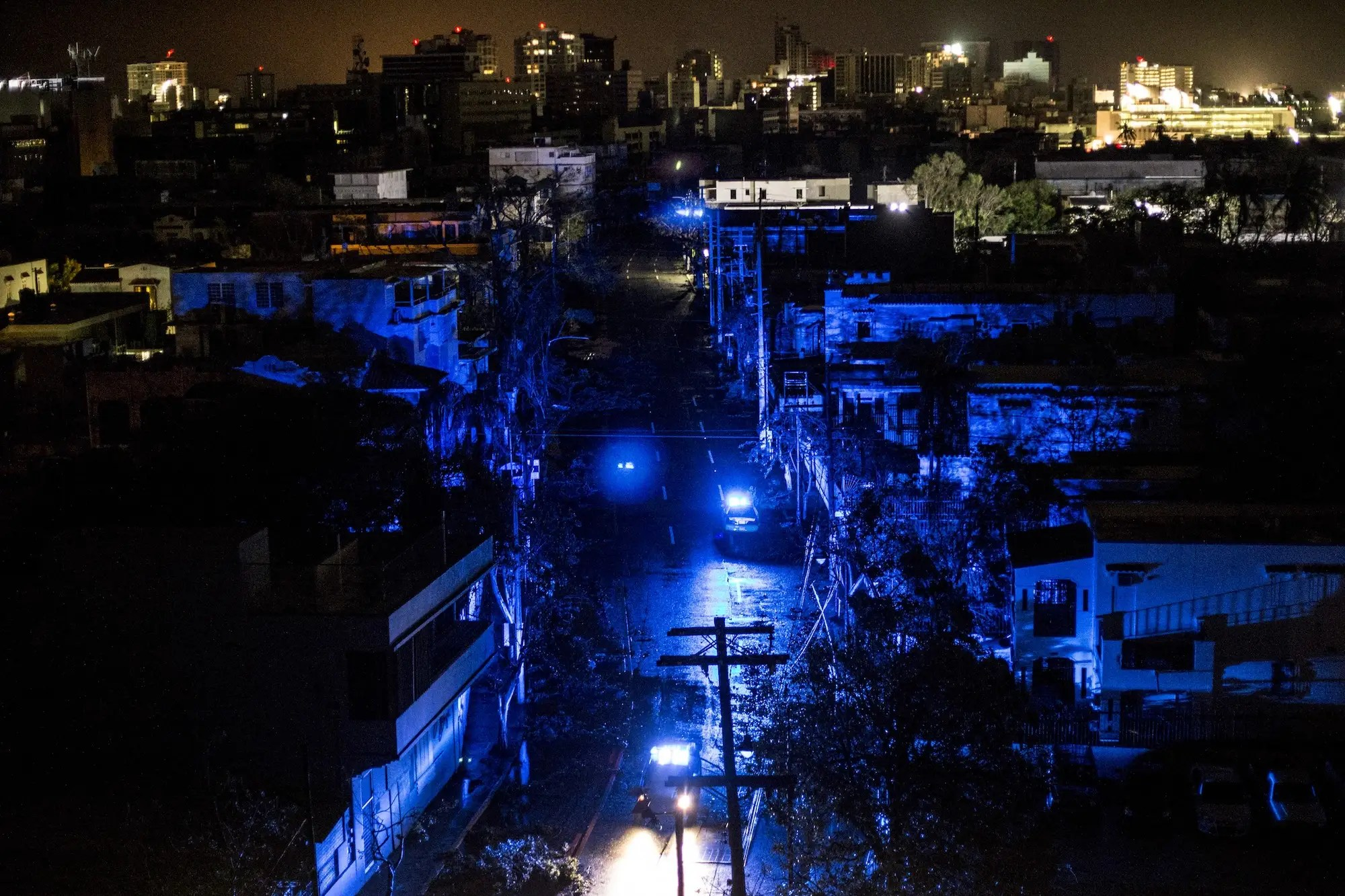 WINDFARM FEATURE puerto rico blackout after Hurricane Maria