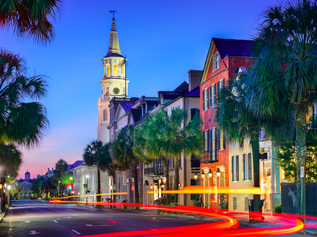 6. Charleston, South Carolina