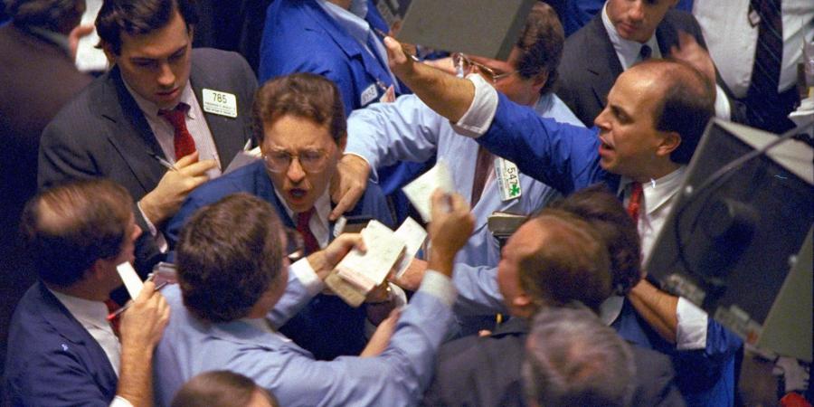 Stock trades 1987 Black Monday