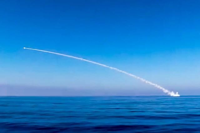 Russia navy submarine cruise missile Syria