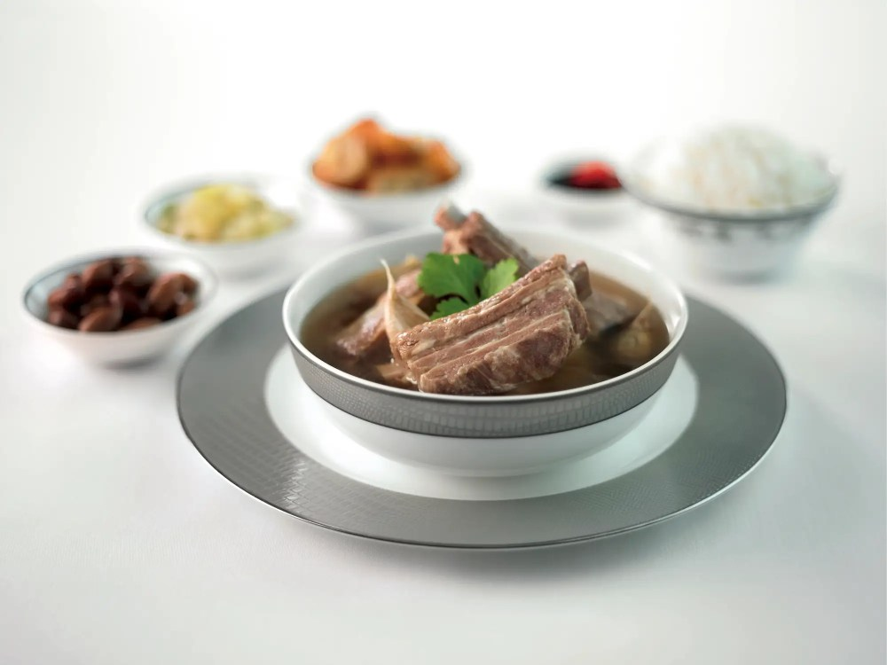 ... Traditional Southeast Asian fare like this bak kut teh ( pork ribs cooked in broth) or...