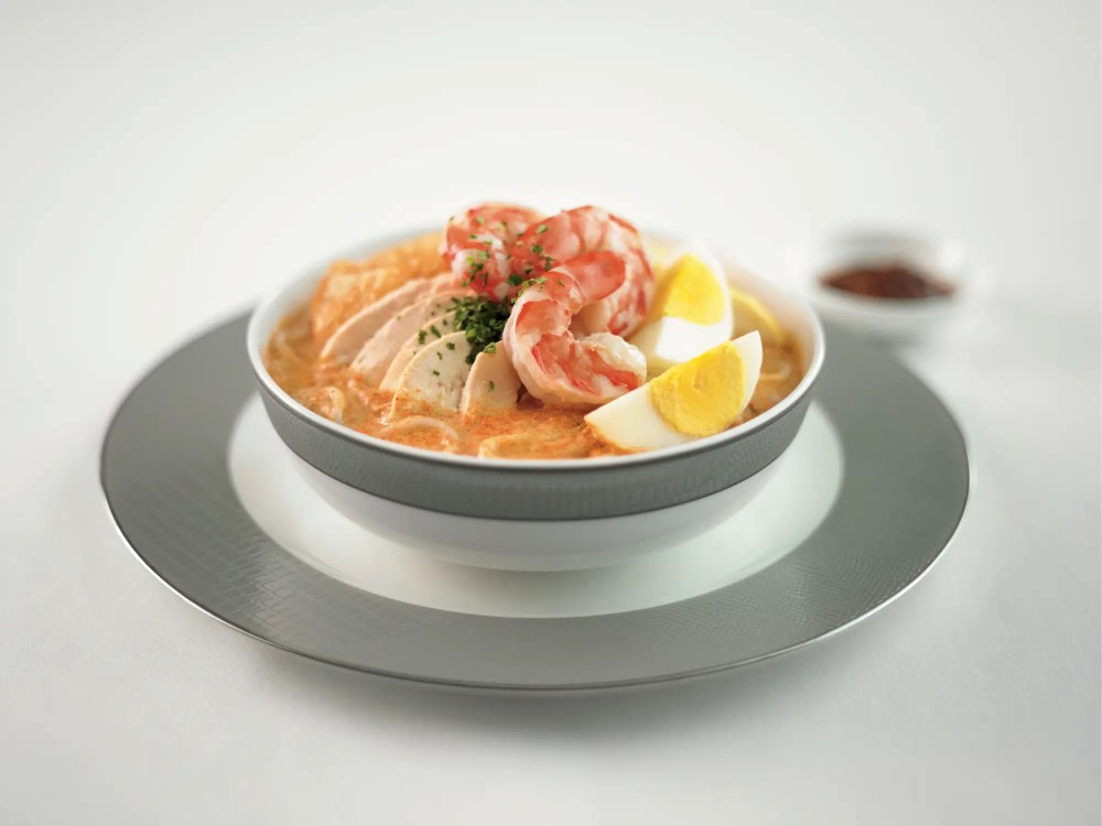 ... This shrimp and chicken laksa.