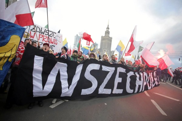 60,000 people just held a huge far-right march in Poland ...