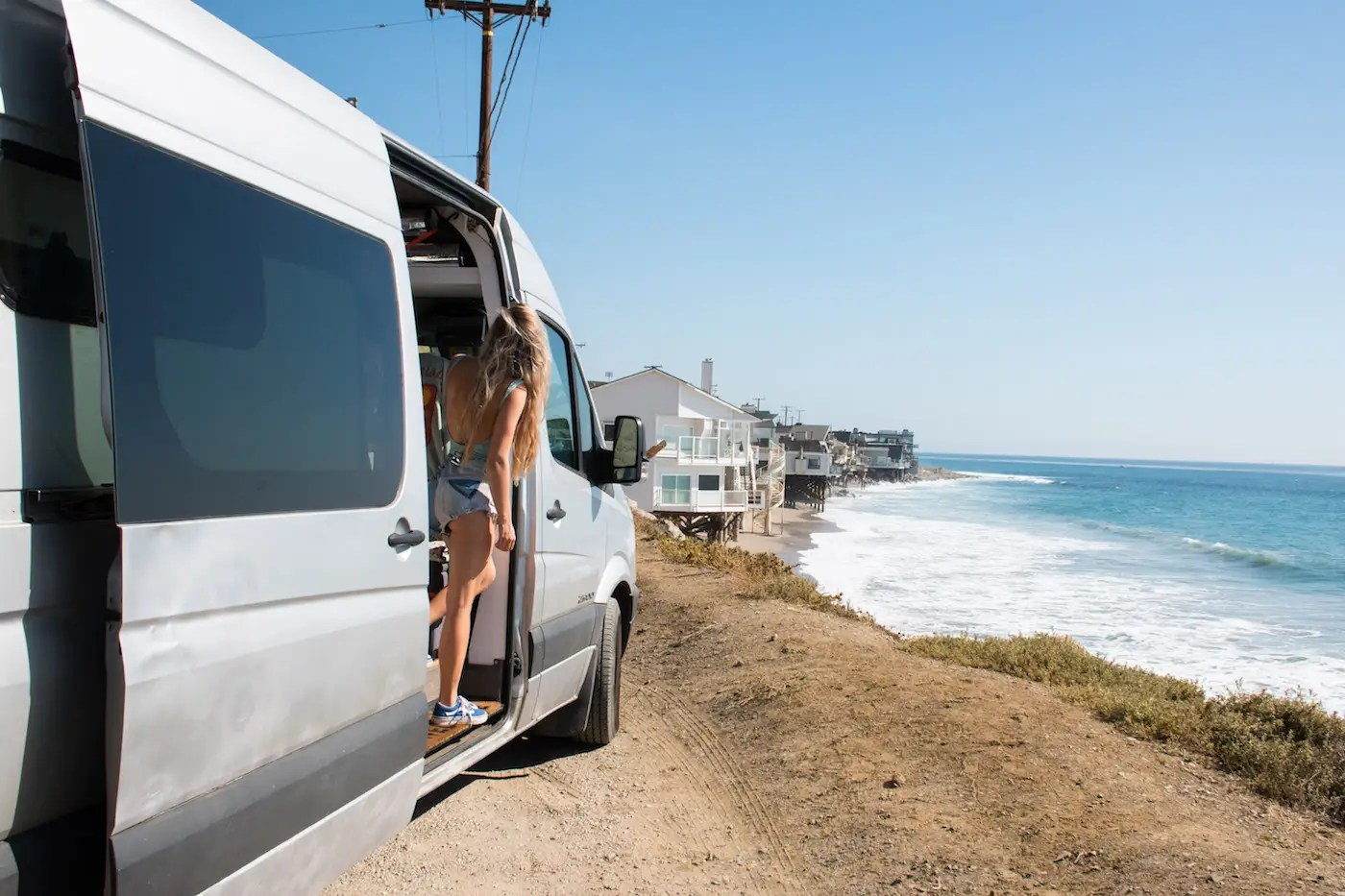 They were inspired to vacation in a converted van-dwelling after seeing the unmissable hashtag on social media. (There are over 2.3 million Instagram posts tagged #vanlife).