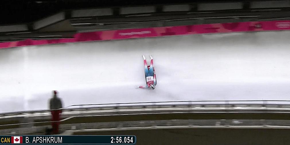 american luger emily sweeney silences winter olympics 2