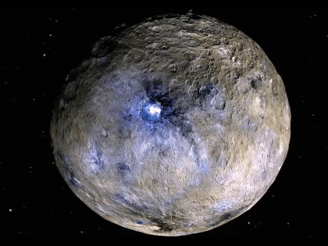 ceres dwarf planet false color dawn mission nasa jpl PIA20182