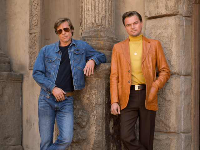 brad pitt leonardo dicaprio once upon a time in hollywood
