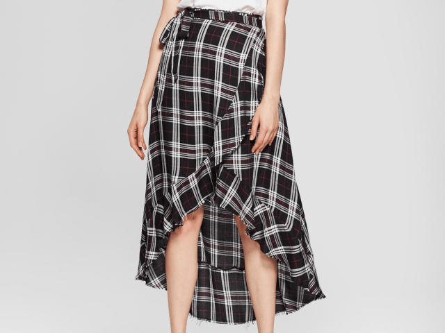 plaid skirt target
