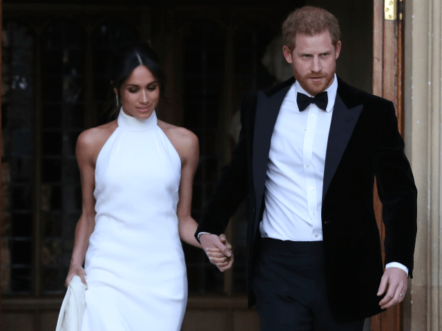 meghan markle wedding reception dress