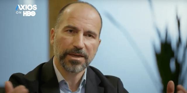 Uber CEO Dara Khosrowshahi on Axios