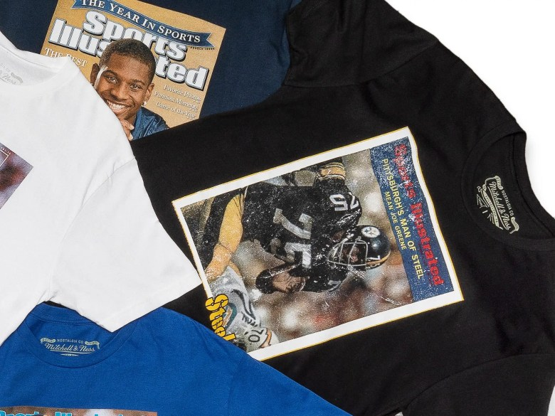 Sports Illustrated Mitchell and Ness collab