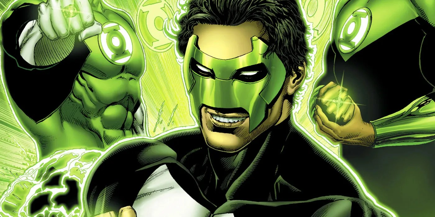 Colors Green All Lantern