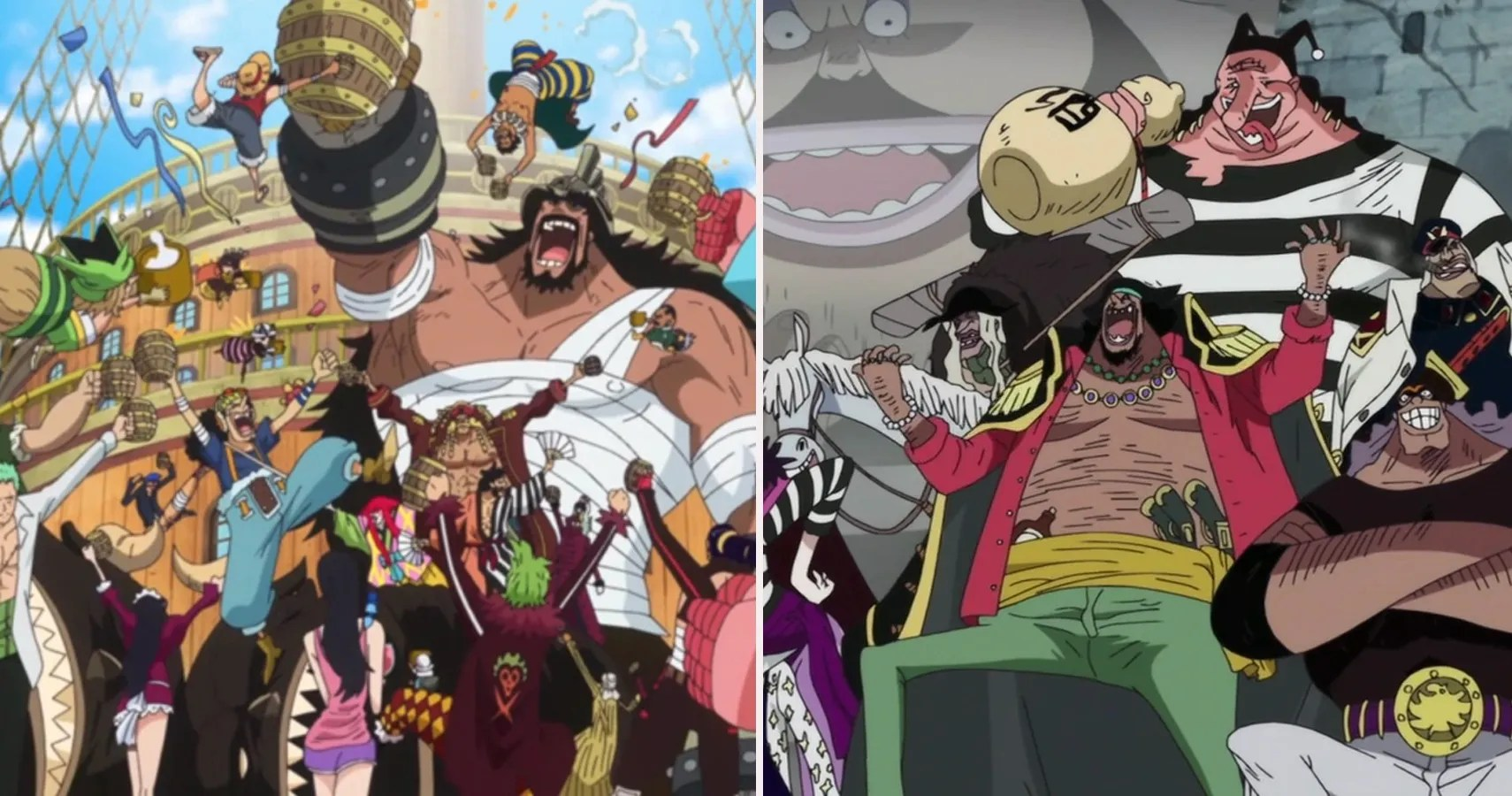Rising pirate crew that originated from the east blue, but have various members from different areas. One Piece 15 Most Powerful Pirate Crews Ranked Cbr