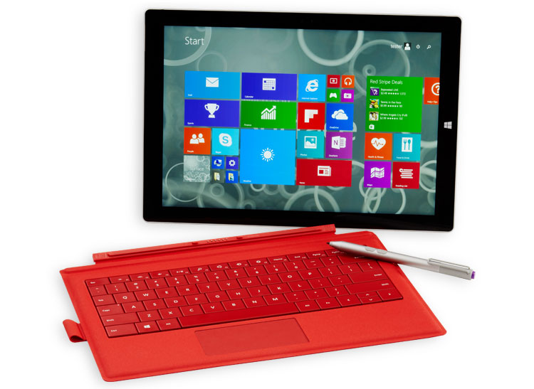 This is an image of Microsoft Surface Pro 3
