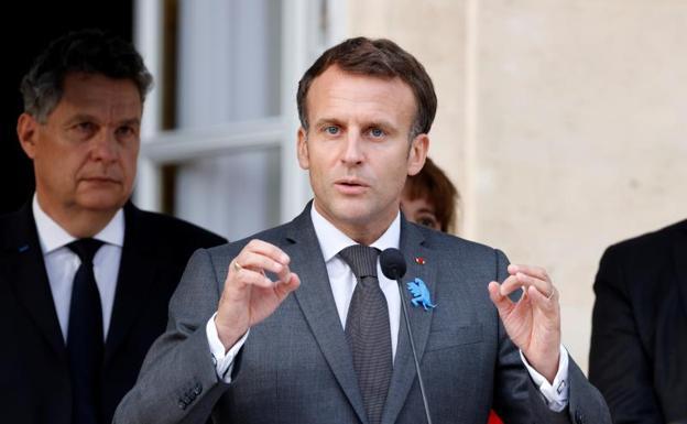 Enmanuel Macron, President of France