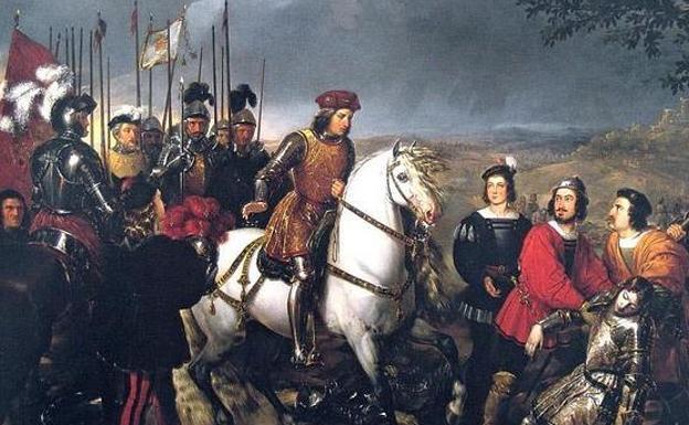 Una de las representaciones del Gran Capitán efectuadas después de su muerte.