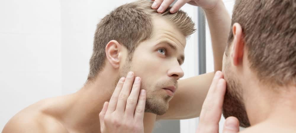 Mens Hair Problems Dealing With Thinning Hair FashionBeans