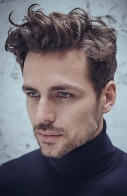 Image Result For Best Curly Hairstyles For Men