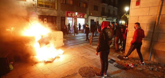 Resultado de imagen de disturbios granada