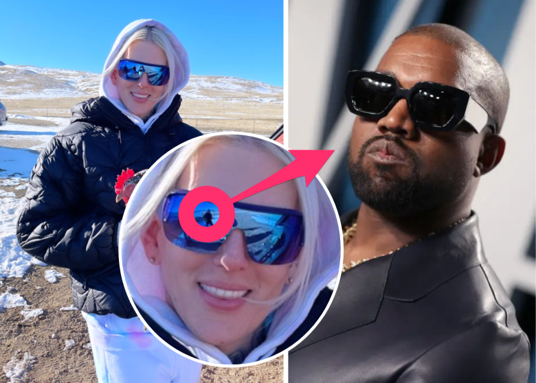 Who is the mystery man in Jeffree Star's sunglasses? Some people speculate it's Kanye West.