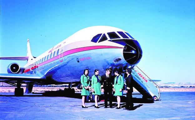 Modelo extinto del avión que avistó el ovni de Manises.