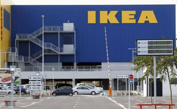 Centro comercial de Ikea en Alfafar./Irene Marsilla