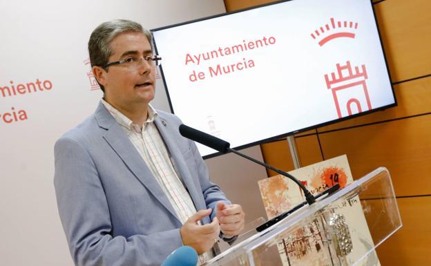 Jesús Pacheco: exconcejal de Cultura de Murcia a la vez que dirigía un hotel que facturó al ayuntamiento 50.000 euros