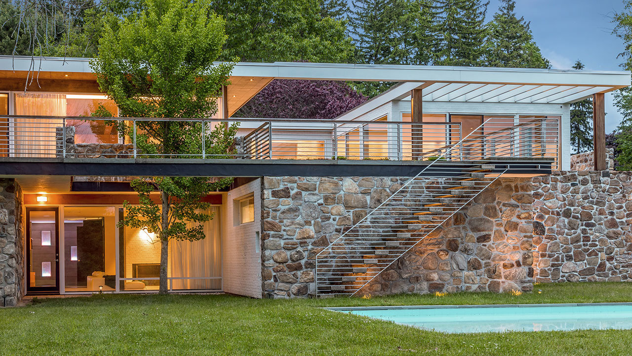 Fully Restored Marcel Breuer Designed House In A Quiet Corner Of Connecticut Mansion Global